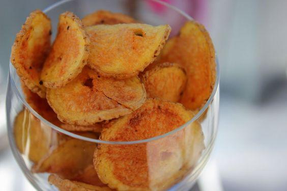 A healthy Love: Chips in 8 Minuten aus der Mikrowelle - wenn alles so einfach ginge