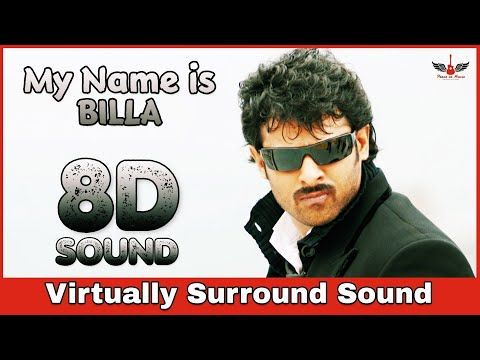 My Name Is Billa 8d Audio Song Billa Prabhas Anushka Telugu 8d Songs Youtube In 2020 Audio Songs Songs Music Channel