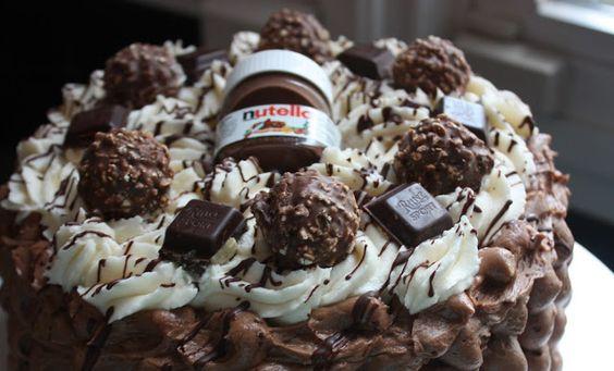Cannella Vita: nutella cake