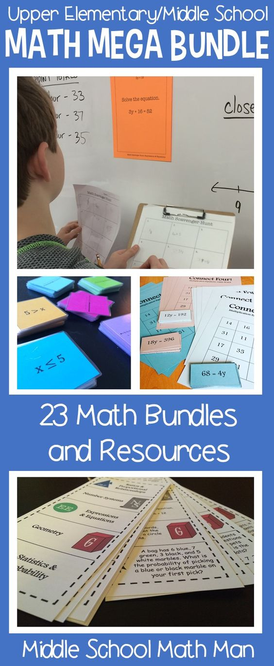 math enrichment activities middle school pdf