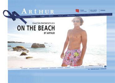 Boutique ARTHUR - Sous-vêtements et vêtements d'intérieur pour homme - femme - enfant