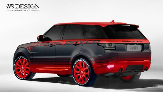 Range Rover Red and