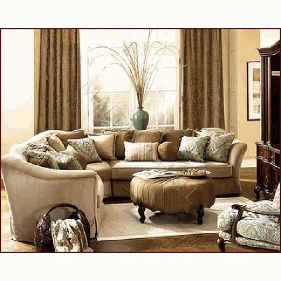 Cleanses french and sectional sofas on pinterest - French country sectional sofas ...