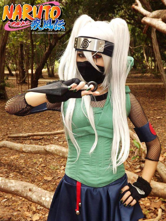 Naruto Kakashi gender bend Cosplay Pinterest Lady
