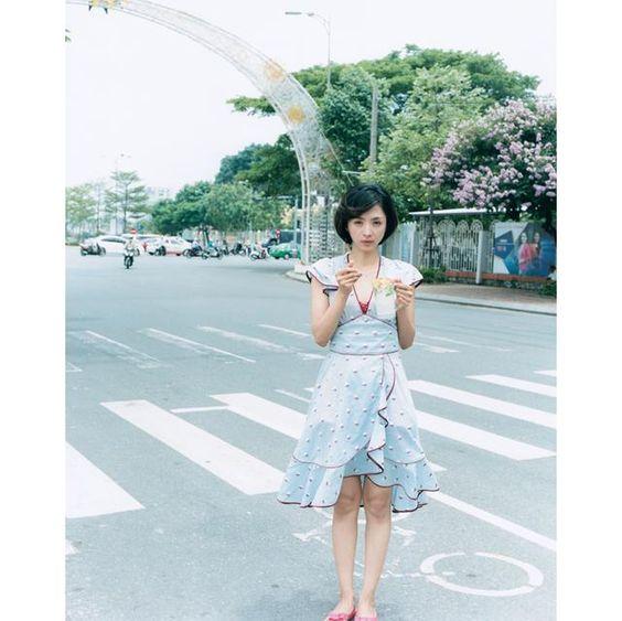 ベトナム旅行中の満島ひかり