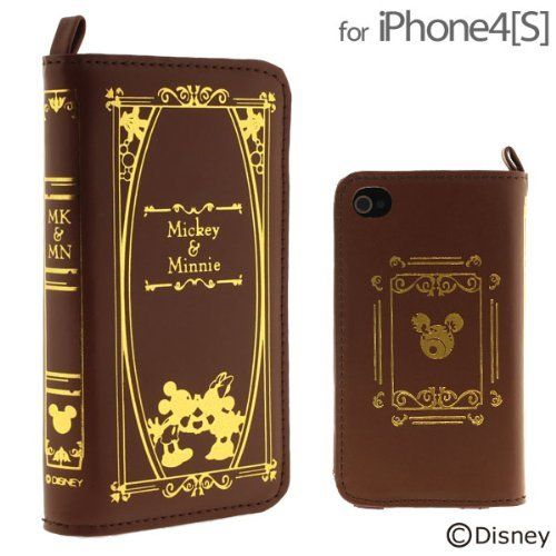 Disney Character Old Book Case for iPhone 4S/4 (Mickey and Minnie) by Strapya, http://www.amazon.com/dp/B008OF33JI/ref=cm_sw_r_pi_dp_q9oRqb06MVKK6