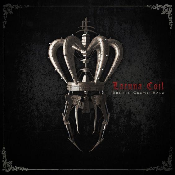 Lacuna Coil - Broken Crown Halo on 180g LP + CD