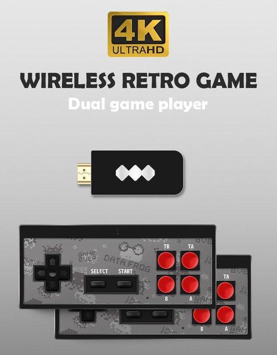 Data Frog USB Wireless Handheld Video Game