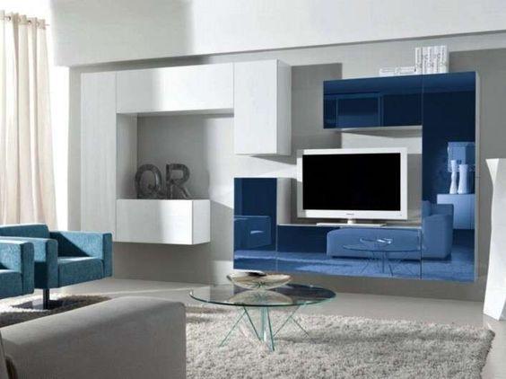 Parete attrezzata bianca Blog, Battistella | Battistella Furniture ...