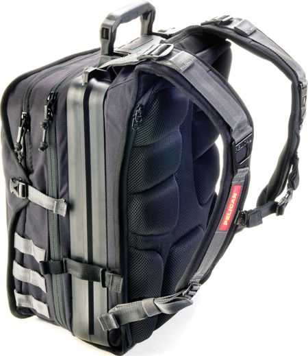 """""""Pelican is known for its watertight, crush-proof cases. This month, the company's Pelican ProGear division releases a series of backpacks that might just be the burliest ever built."""""""