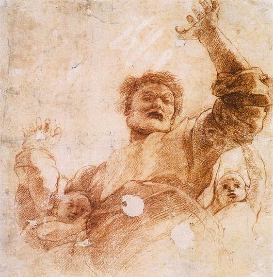 Raffaello Sanzio, Study for God the Father dans images sacrée 98025f21ffc1153b317862086899e207