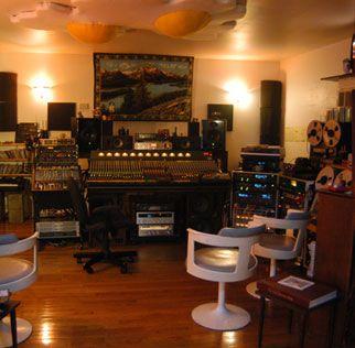 Lance Koehler's studio - Minimum Wage Recording