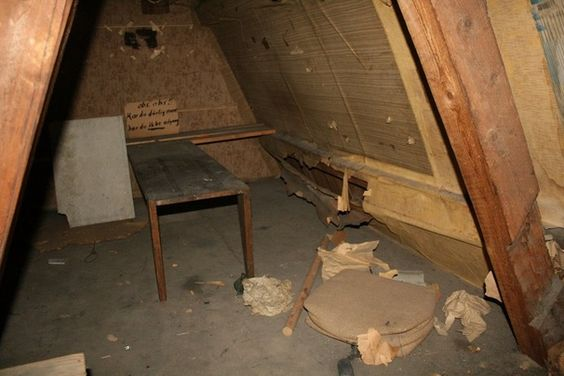 These people found a hidden #room in their attic from #WWII.