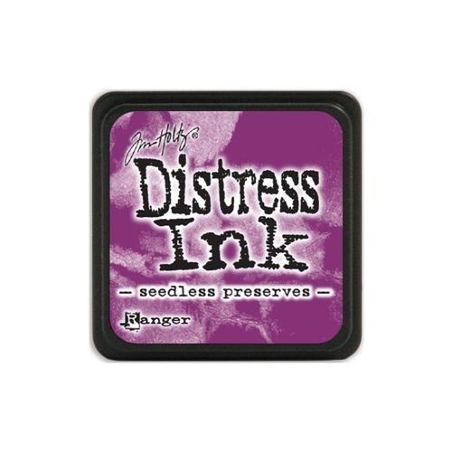 Tim Holtz Distress Mini Ink Pad SEEDLESS PRESERVES Ranger