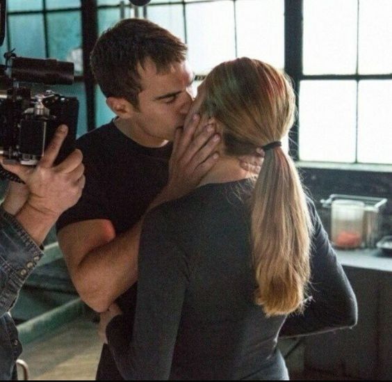 Theo james, Shailene woodley and Divergent on Pinterest