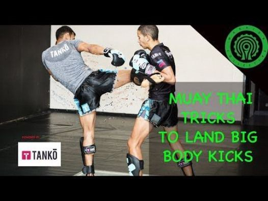 Muay Thai Tricks To Land Big Body Kicks Tutorial Youtube Dietworkout Muay Thai Fighter Workout Boxing Techniques