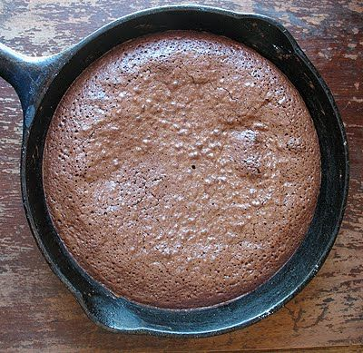 Brownies in a Cast Iron Skillet | Amanda's Cookin'