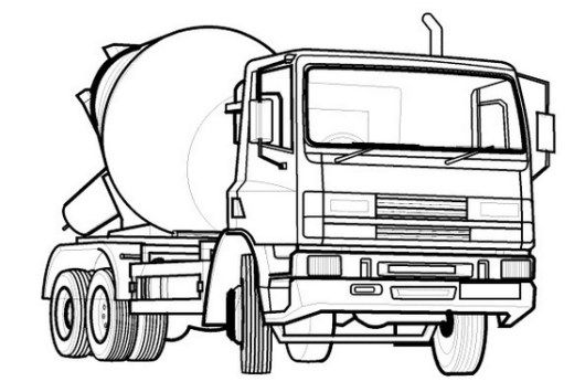 Concrete Mixer Truck Truck Coloring Pages Cars Coloring Pages Coloring Pages