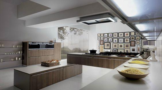 Un centro de mando para dirigir la cocina - Cocinas con estilo