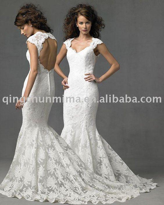 all lace dress...