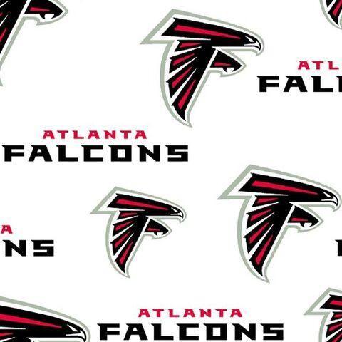 Atlanta Falcons Cotton Fabric Atlanta Falcons Falcons Atlanta Falcons Wallpaper