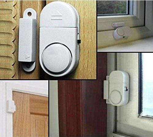 Magnetic Door Alarms Can Be Loud And Quickly Scare Away An Intruder They Re A Simple Low Cost Diy Home Security Home Security Systems Wireless Home Security
