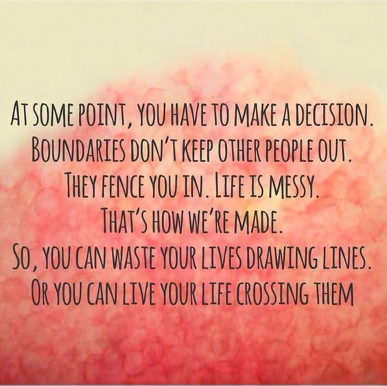 Being The Messy One In A Relationship: At Some Point, You Have To Make A Decision. Boundaries Don