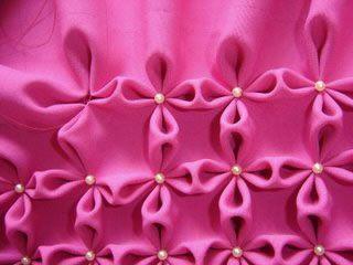 VCTRY's BLOG: Como hacer el punto flor, para almohadones, mantas, etc