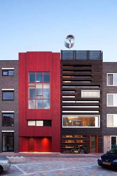 Casa sustentável em Amsterdã