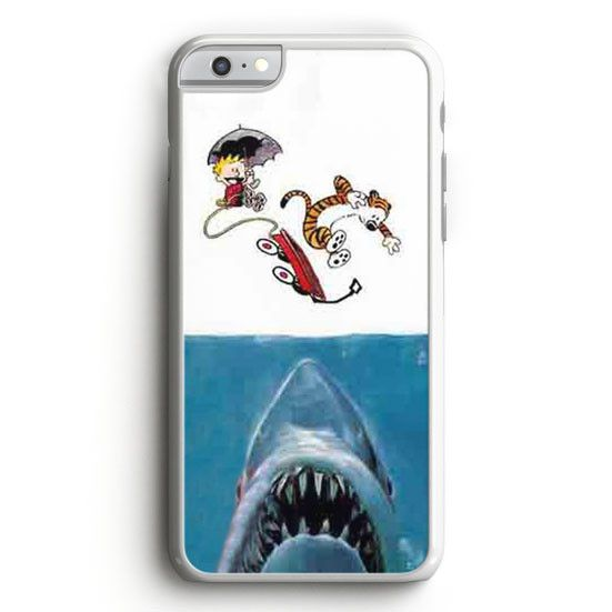 Calvin And Hobbes Jaws iPhone 6 Case | Aneend