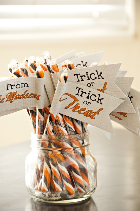 Belinda's {Great} Ideas: Halloween  I need to pick up some of these candies for Halloween!