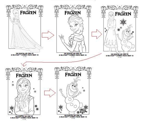無料の印刷用ぬりえページ ほとんどのダウンロード アナと雪の女王 塗り絵 画像 雪の女王 塗り絵 雪
