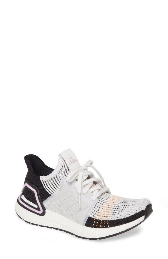 Women's Adidas Ultraboost 19 Running Shoe, Size 11 M - White in ...