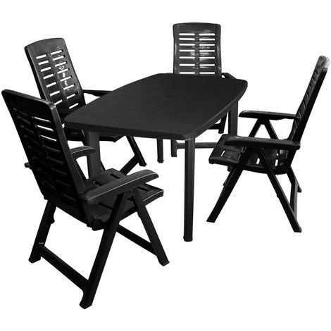 Kunststoff Gartenmobel Set Angebote In 2021 Outdoor Chairs Dining Chairs Outdoor Furniture
