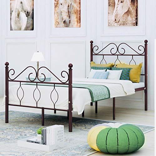 Universal Ltd Twin Bed Frame With Headboard And Footboard Platform