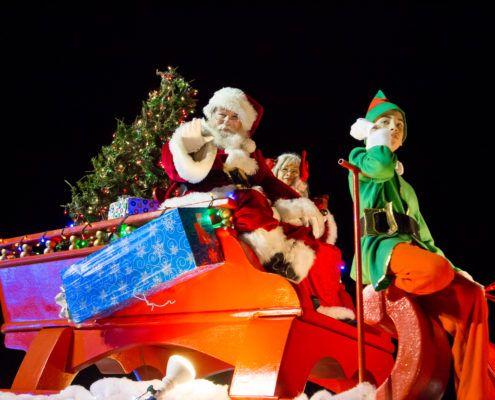 Viera Christmas Parade 2020 Santa at Light Up Viera Parade 2015 | Florida in 2020 | Cocoa