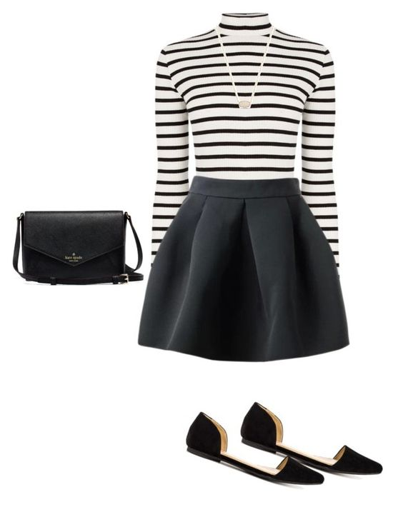 """""""⬛️"""" by lspielmann ❤ liked on Polyvore featuring Oasis, Penny Loves Kenny and Kendra Scott"""