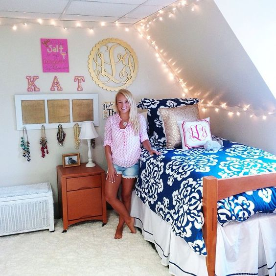 Dorm room decorating idea:
