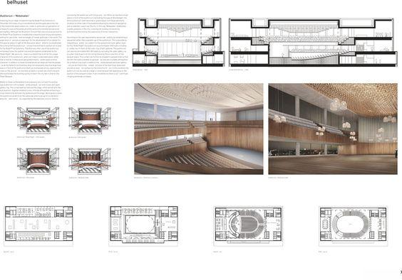Planos de niveles y secciones. Imagen ©David Chipperfield Architects.