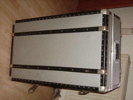 rimowa koffer reisekoffer bordgepäck schiffskoffer xxl sehr groß  trolly rollen