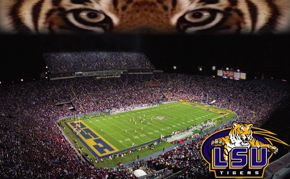 Lsu, Lsu tigers and Death valley on Pinterest