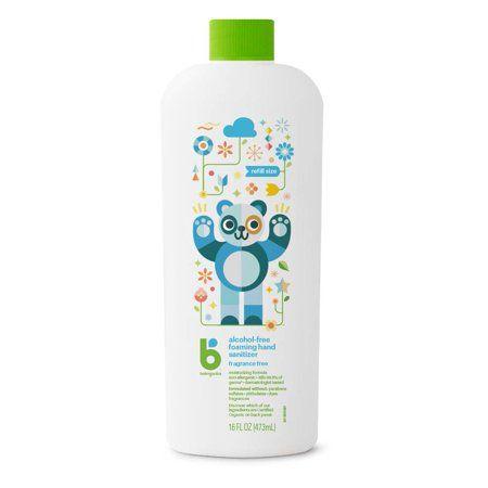 Babyganics Alcohol Free Foaming Hand Sanitizer Fragrance Free 16