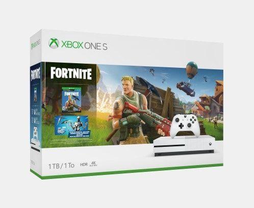 Xbox One S Fortnite Bundle Box Art Xbox One S Xbox One S 1tb Xbox One Console