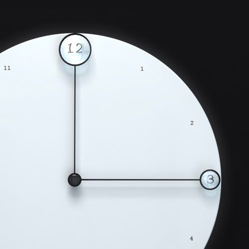 Clock Minimalist Design And Black White On Pinterest