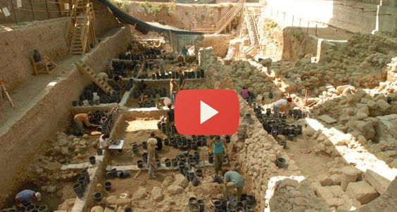 See the text of the Bible being discovered RIGHT HERE in JERUSALEM in the City of David!
