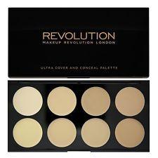 MAKEUP REVOLUTION Cover & Conceal Palette Contour Highlighter Light