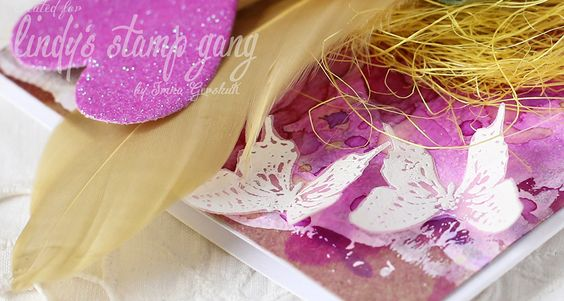 Embossing vellum to create embellishments! | Lindy's Stamp Gang