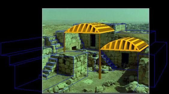 ادراج عناصر ثلاثية الابعاد في المشهد inserimento di elementi 3d nella scena
