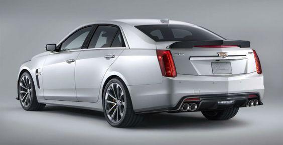В Европе осенью стартуют продажи Cadillac CTS-V