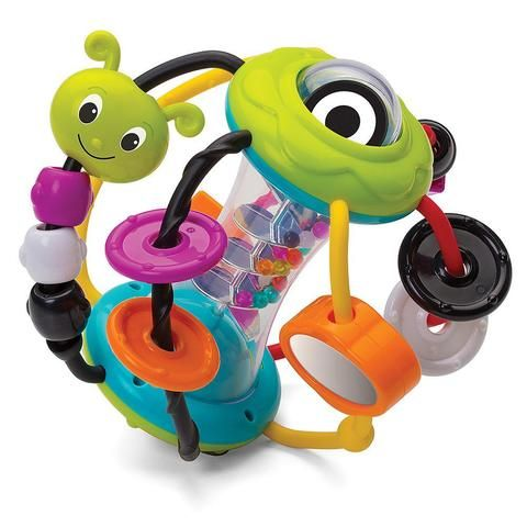 Bright Starts Spin//Giggle Puppy Animal Toy Game Baby//Infant//Toddler w// Music 6m+